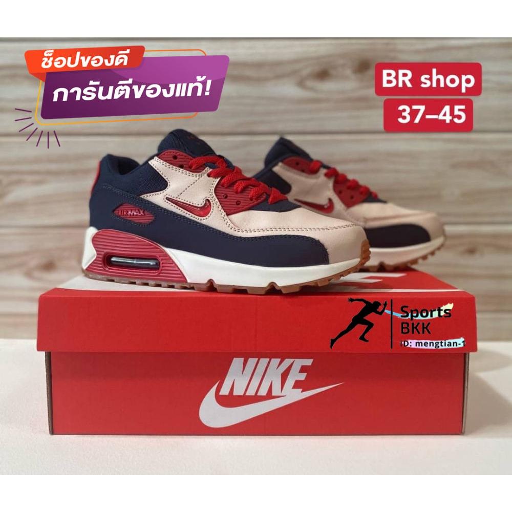 จัดส่งฟรีจัดส่งฟรีจัดส่งฟรี[Sports BKK] รองเท้าผ้าใบNike รองเท้าผู้ชาย Air Max 90 (New color) มี 2 สี size: 36-45 รองเท้
