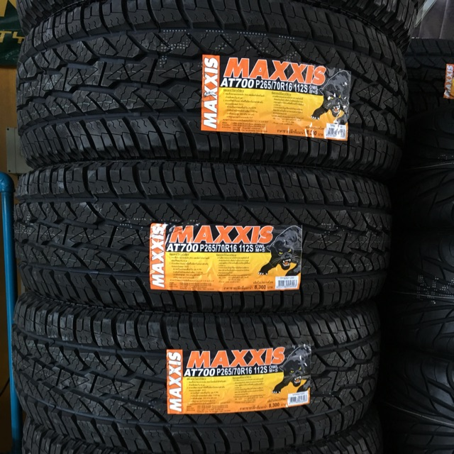 Maxxis at700.  265/70/16