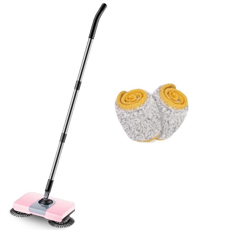 สิ่งประดิษฐ์ถูพื้นอัจฉริยะ┅✈❣สมาร์ทมือกดไม้กวาดไม้กวาดกวาดในครัวเรือนและ mopping หุ่นยนต์ดูดฝุ่นแบบบูรณาการ broom artifa