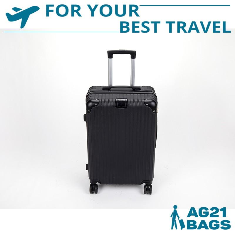 กระเป๋าเดินทาง 24 นิ้ว กระเป๋าเดินทางล็อกรหัส กระเป๋าเดินทางล้อลาก ล้อหมุนได้ 360 องศา วัสดุ ABS+PC ทนทาน ราคาประหยัด