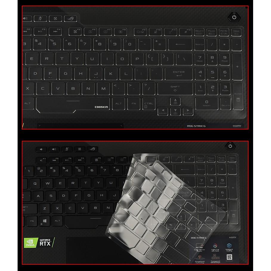 """เคสแป้นพิมพ์ Tpu แบบใสสําหรับ Asus Rog Strix G731gv G731gu G731gw G731g 17.3"""""""