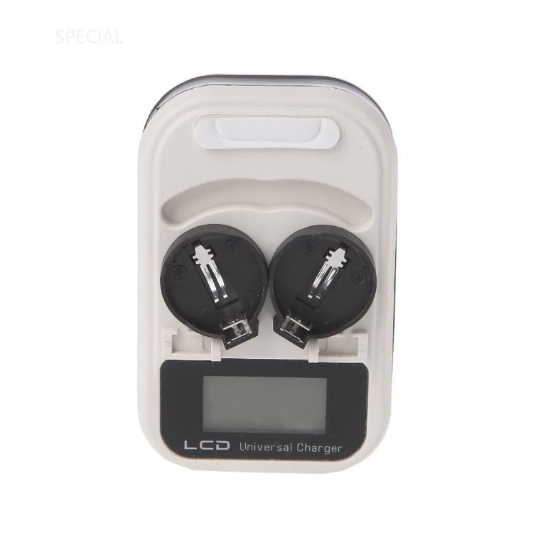 Brand New Smart Charger for Dual Li-Ion Button Cells 3.6V LIR2032 2032 LIR2025
