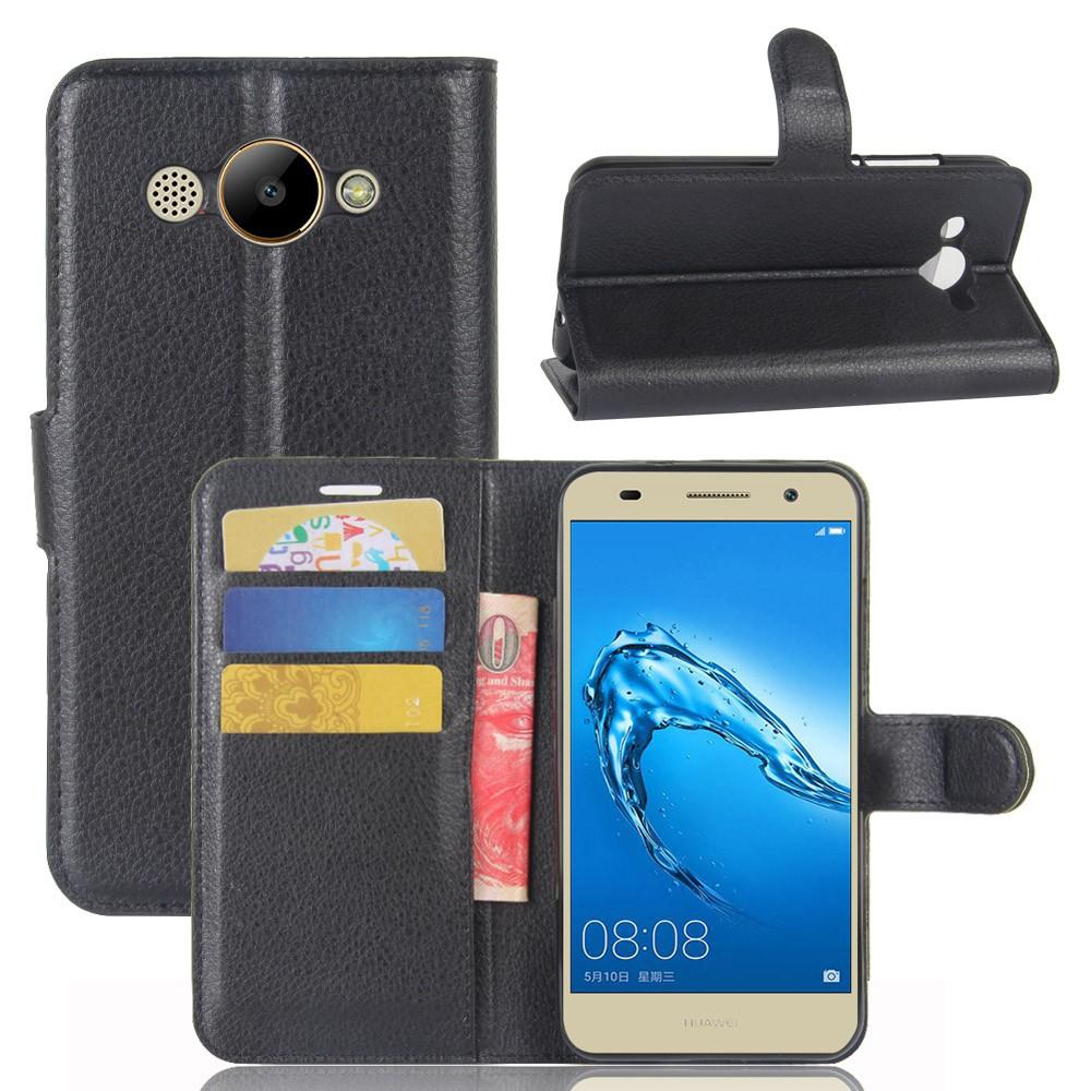 เคสโทรศัพท์มือถือแบบหนัง Pu สําหรับ Huawei Y3 2017 Cro-l02 Cro-l03 Cro-l22 Cro-l23