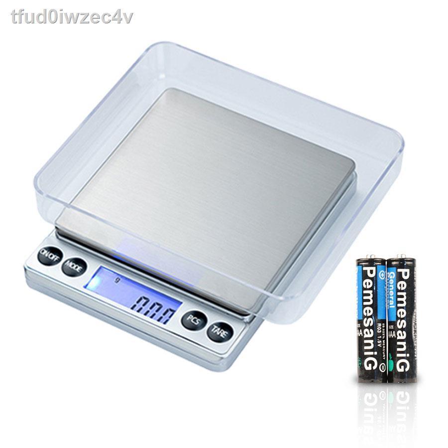 【ลดราคา】◎♤Narmall เครื่องชั่งน้ำหนักดิจิตอล ชั่งได้ 2000 กรัม ทศนิยม 1 จุด 0.1 ชั่งทอง ชั่งเพชร ชั่งแป้ง ชั่งอาหาร K