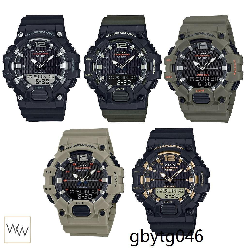 [ใส่โค้ด WGMAY8 ลดเพิ่ม 8%*] ของแท้ นาฬิกาข้อมือ Casio รุ่น HDC-700