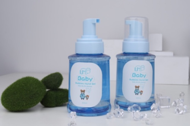 พร้อมส่ง เจลล้างมือสำหรับเด็กเล็ก กลิ่นนม  300ml