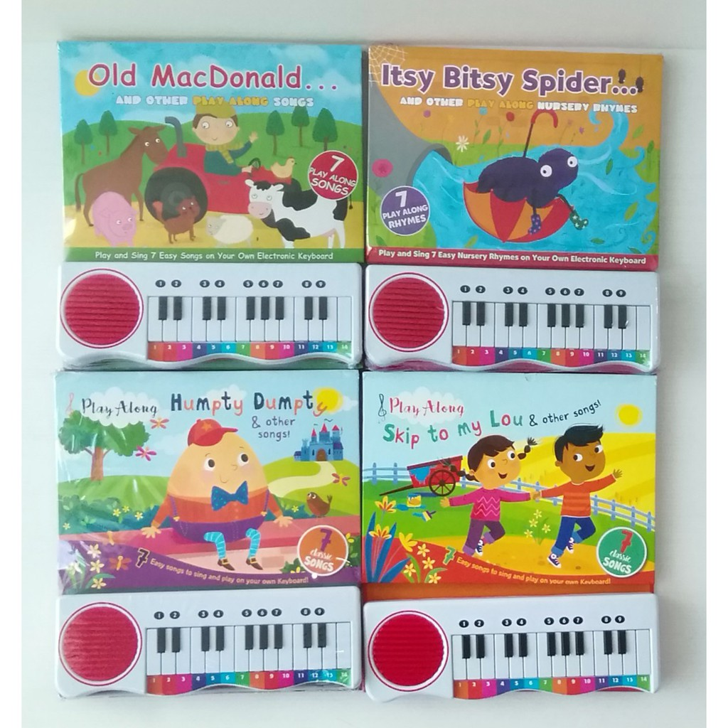 Keyborad set 4 books