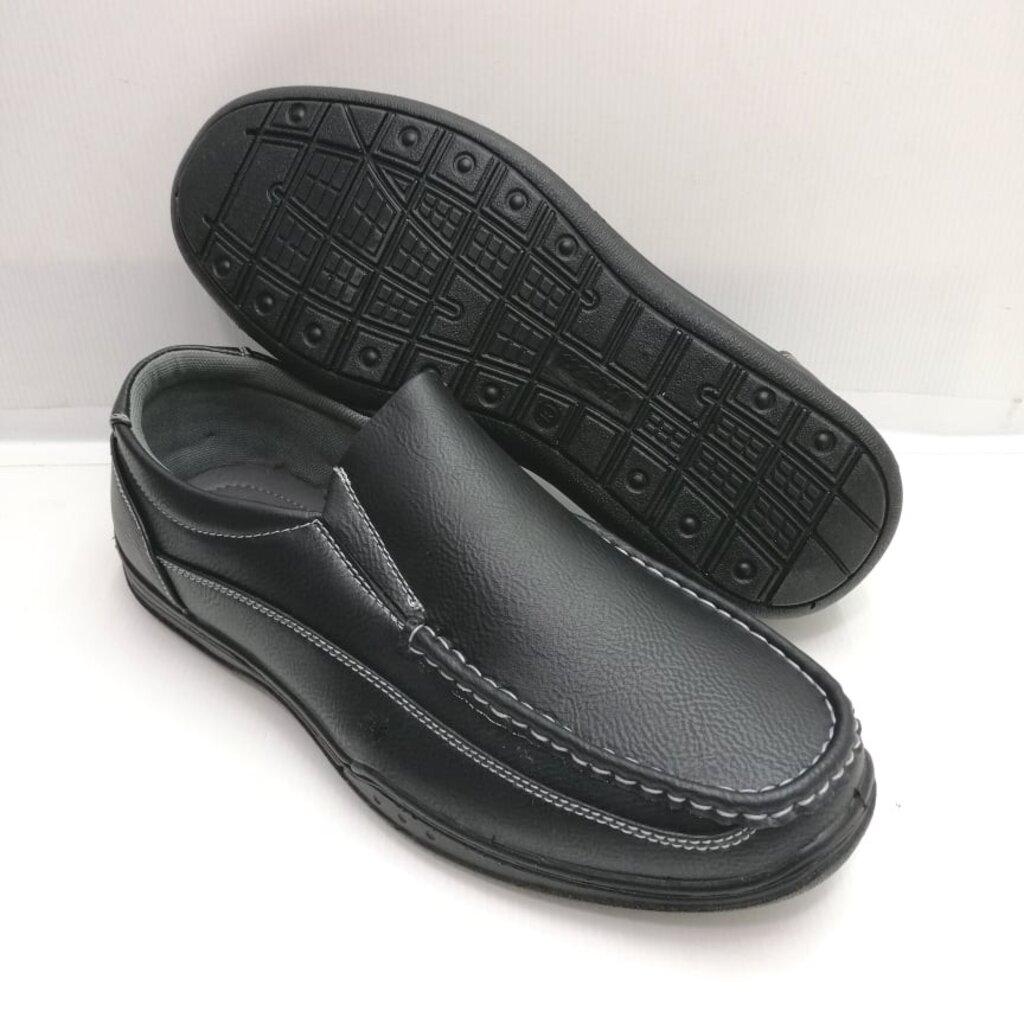 (851-6727) Bata รองเท้าหนังคัชชูผู้ชาย ยี่ห้อบาจา สีดำ เบอร์ 5-11 (38-46) รุ่น 851-6727
