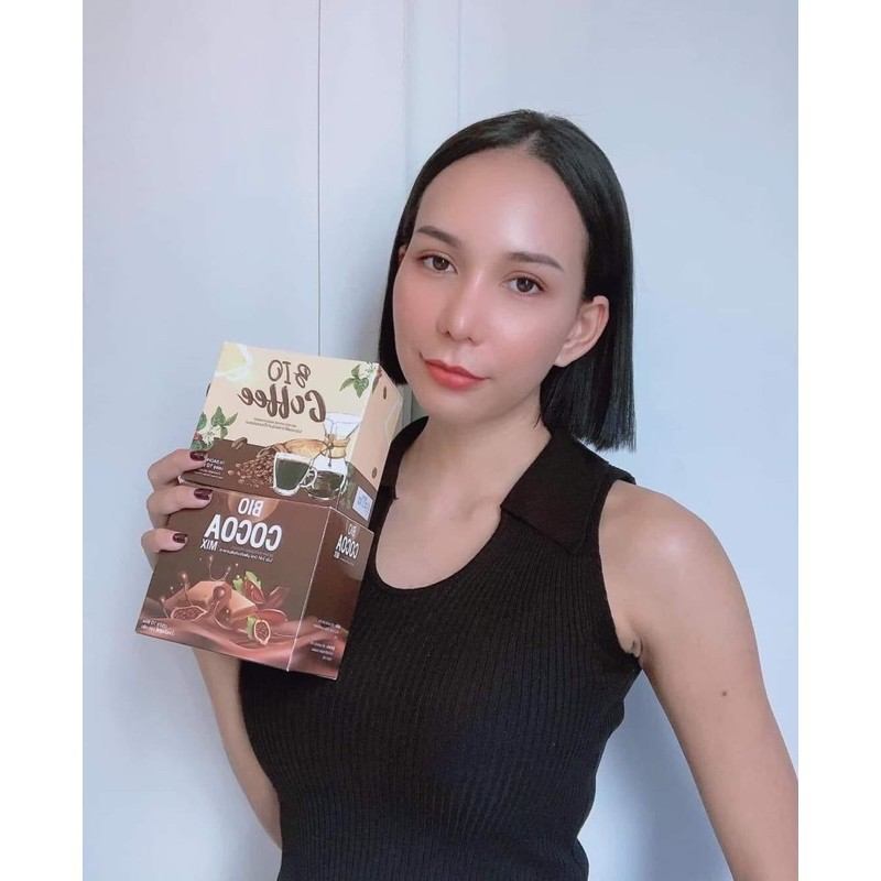 ✐℗☄BIO Cocoa coffee tea malt ไบโอโกโก้ 10 ซอง มี 3 รสชาติ