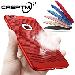 Review Heat Dissipation Phone เคส for iPhone X XS Max XR  6 6s 7 8 Plus X Hard PC Cover