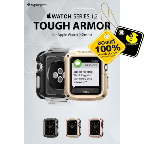 Apple Watch (38/42 mm) Spigen Tough Armor Case