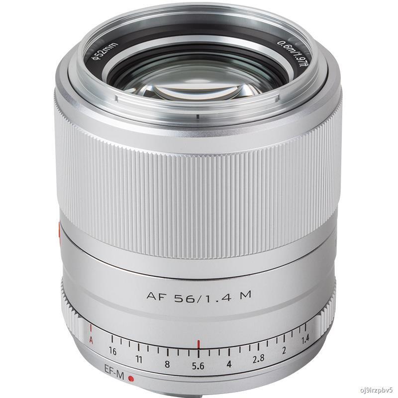 ▲✹☼Vision Canon EOSM 56mm F1.4 STM เลนส์โฟกัสคงที่ไมโครเดี่ยว ภาพบุคคล เลนส์โฟกัสอัตโนมัติเต็มรูปแบบสำหรับกล้อง Canon M1