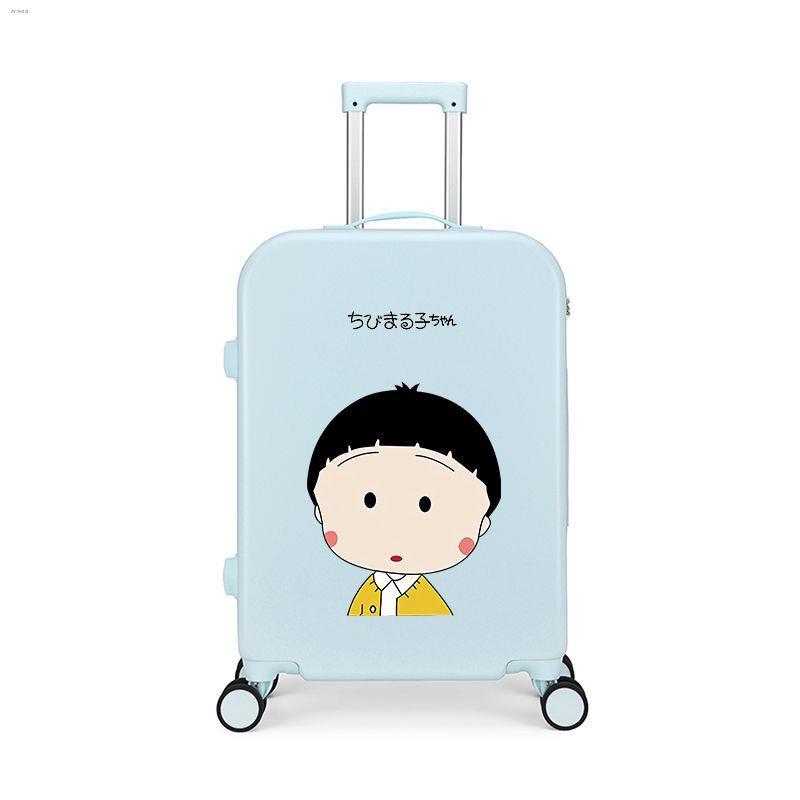 ஐกระเป๋าใส่รถเข็นดาราดังในกระเป๋านักเรียนสดขนาดเล็กกระเป๋าเดินทางหญิงน่ารักกระเป๋าเดินทาง 20 นิ้ว 22 ใบ 24 สีลูกกวาด