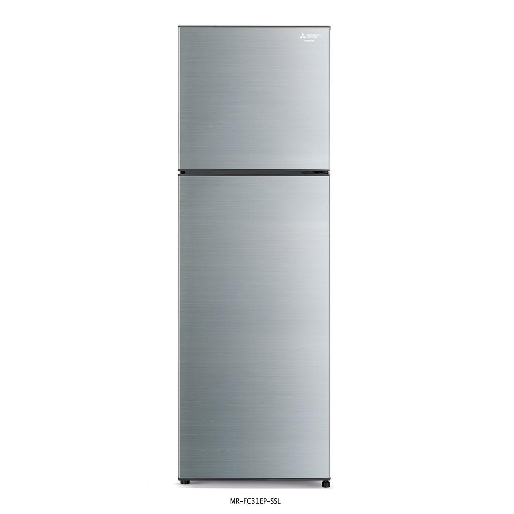 ตู้เย็น 2 ประตู  Mitsubishi Electric FC DESIGN INVERTER ความจุ 288 ลิตร/10.2 คิว  รุ่น MR-FC31EP