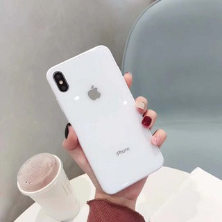 Image # 4 of Review เคสเอฟเฟคเเก้ว สีสันสดใส สำหรับ  iPhone 11 pro max i11 6 6 S 7 8 Plus X XR XS Max phone Case
