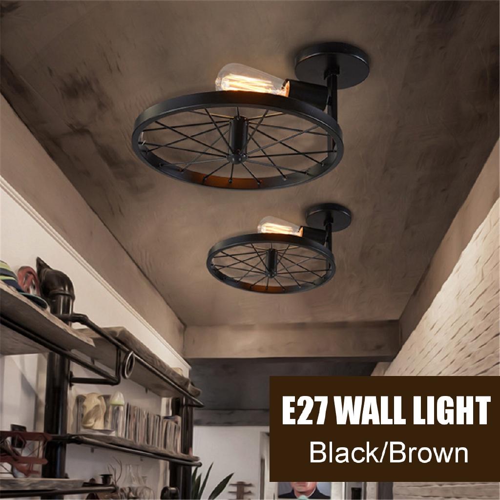 Lamps, Lighting & Ceiling Fans Corridor E27 Retro Indoor
