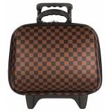 อุปกรณ์จัดเก็บเสื้อผ้า□MZ Polo กระเป๋าเดินทางล้อลาก 14 นิ้ว รุ่น 99414 (Brown)