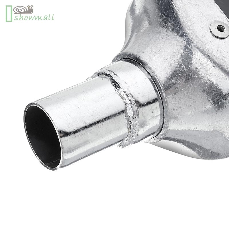 Black Motorcycle Exhaust Muffler Tail Pipe Silencer Slip on 50cc-125cc