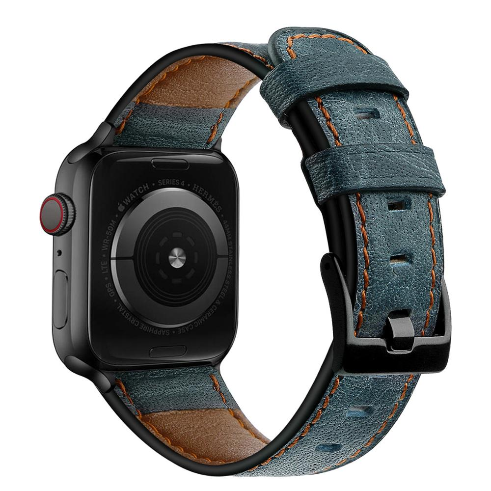 Apple watch strap, 38mm, 40mm, 42mm, 44mm, series 3, 4, 5, 6 se, leather strap, Iwatch