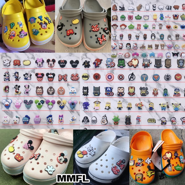 ? Jibbitz มากถึง 1,000 ลาย‼️ การ์ตูน Jibbit ตัวการ์ตูนติดรองเท้า Crocs ส่งจากเมืองไทย.