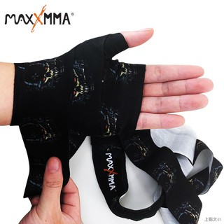 ✥◎MaxxMMA Boxing Bandage Sports Sanda Muay Thai Handwrapped with Fighting Protective Gear Handguard 5m Female