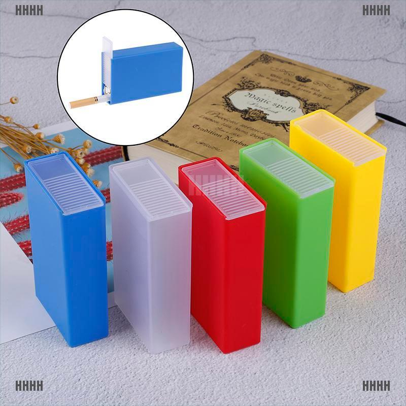 [WYL]1PC Plastic Cigarette Case Box Holder Pocket Box Cigarette Holder Storage