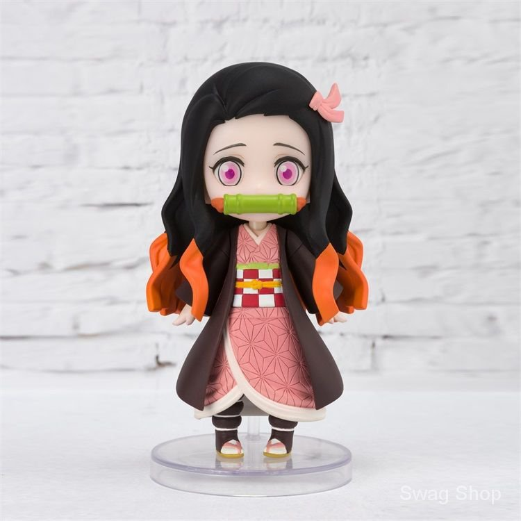 Demon Slayer Kamado Nezuko Figuarts mini ผีมิเอะ Zhi ขอบQรุ่น คุณถั่ว Figure Model