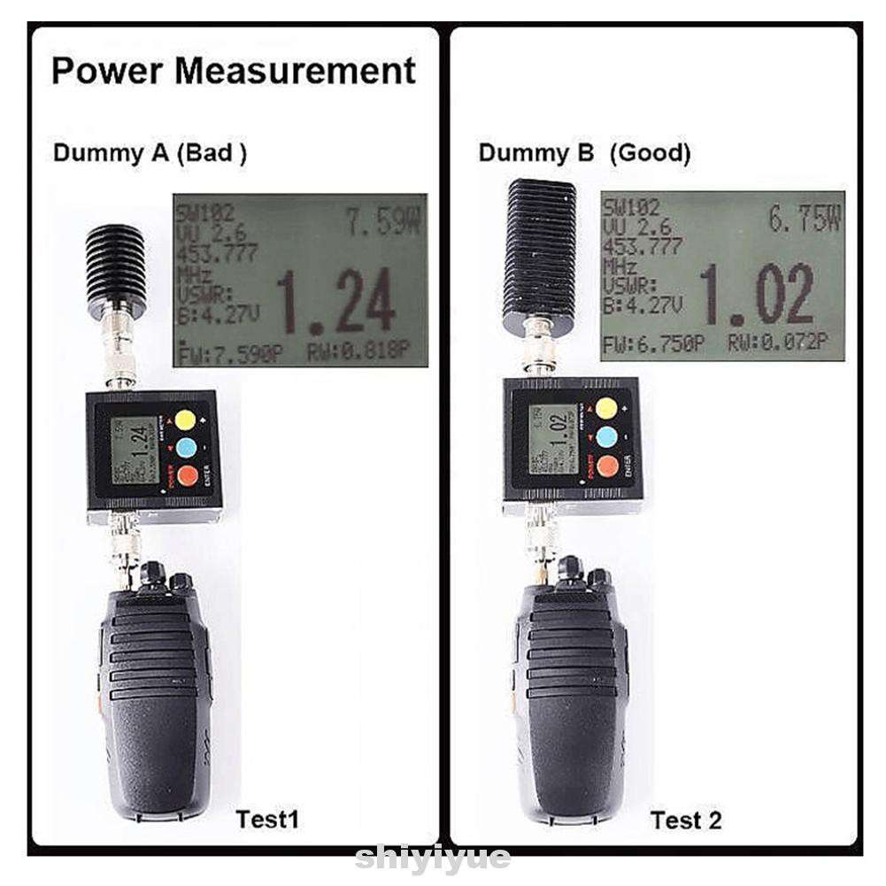 SW 102 VU Antenna Power Frequency Display UHF Measuring Tool Portable Digital Walkie Talkie Part SWR Meter