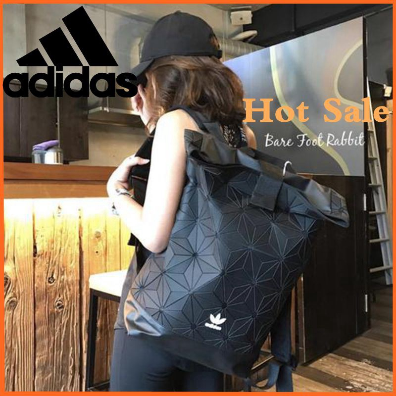 【 Ready Stock 】กระเป๋า Adidas 3D Urban BACKPACK ผู้ชายผู้หญิงแฟชั่นกระเป๋าเป้สะพายหลังกระเป๋า Adidas