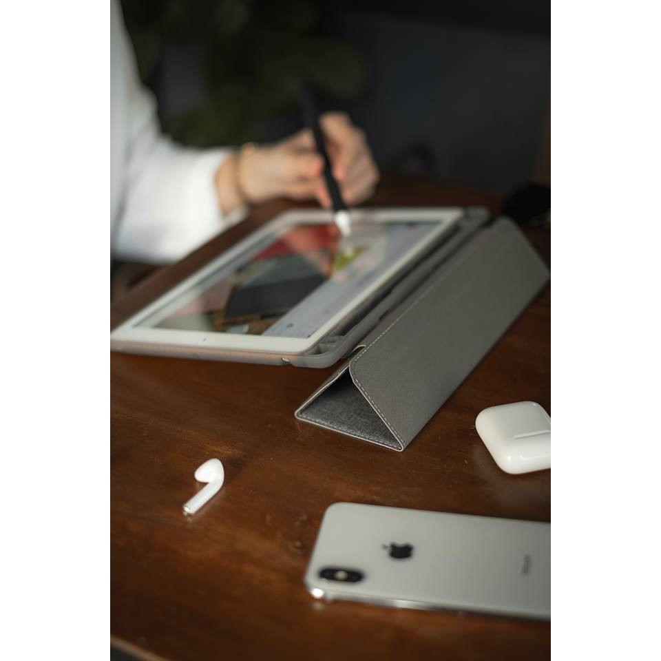 """🔥ราคาพิเศษTrifold """"Plus Series"""" เคส iPad 10.2 (Gen7) /  / Gen 8 10.2 2021 เคสไอแพด AppleSheep [แบบเก็บปากกาที่ใส่ปลอกปาก"""