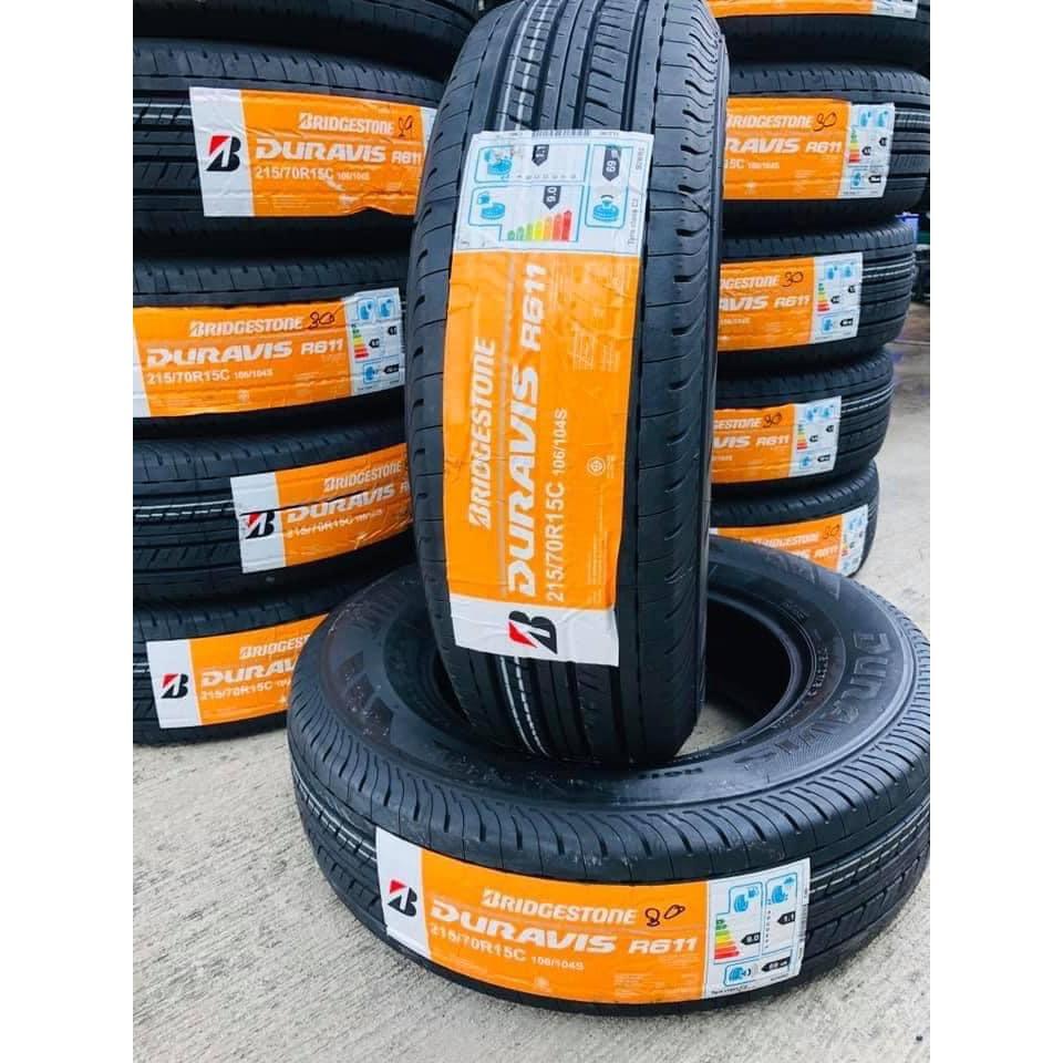 ยางรถยนต์ Bridgestone 215/70R15 durabis R611