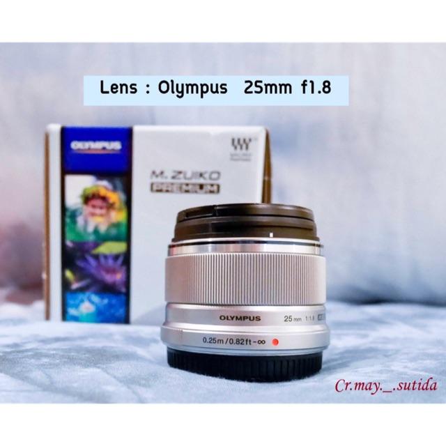 Lens Olympus 25mm f1.8