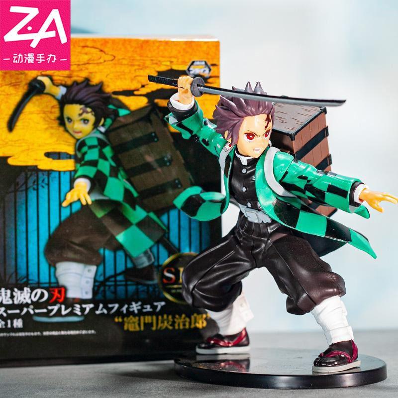 ✼❍▲Demon Slayer Kadomon Tanjiro Back Box SPM Boxed Figure Model