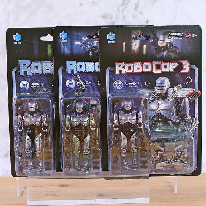 Hiya Toys 1/18th Scale Battle Damage ROBOCOP Acton Figure