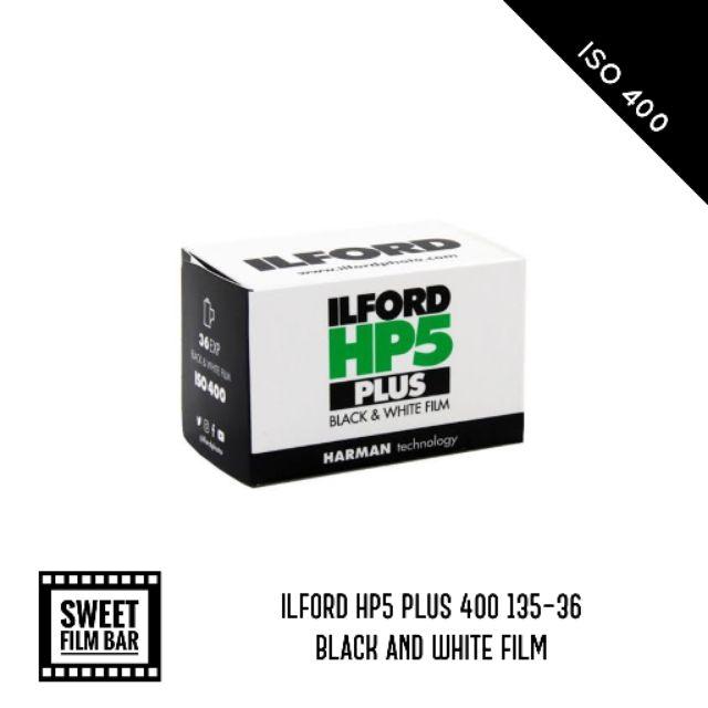 Ilford HP5 Plus 120mm Black /& White Film Pack of 5