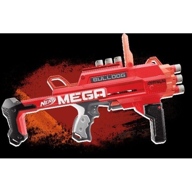 ✁▨NERF Accustrike Mega Bulldog Blaster Toy Gun ปืนเนิร์ฟ