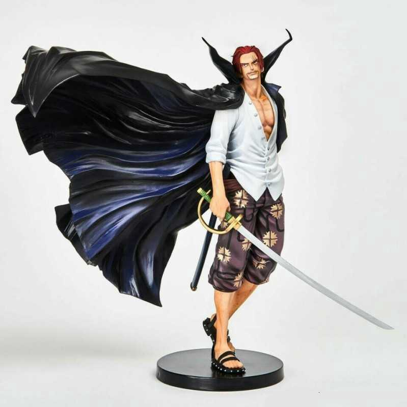 18cm Anime One Piece Shanks PVC Action Figure Collectible Model  Doll Christmas Gift Kids Boys Toy ฟิกเกอ โมเดล ฟิกเกอร์