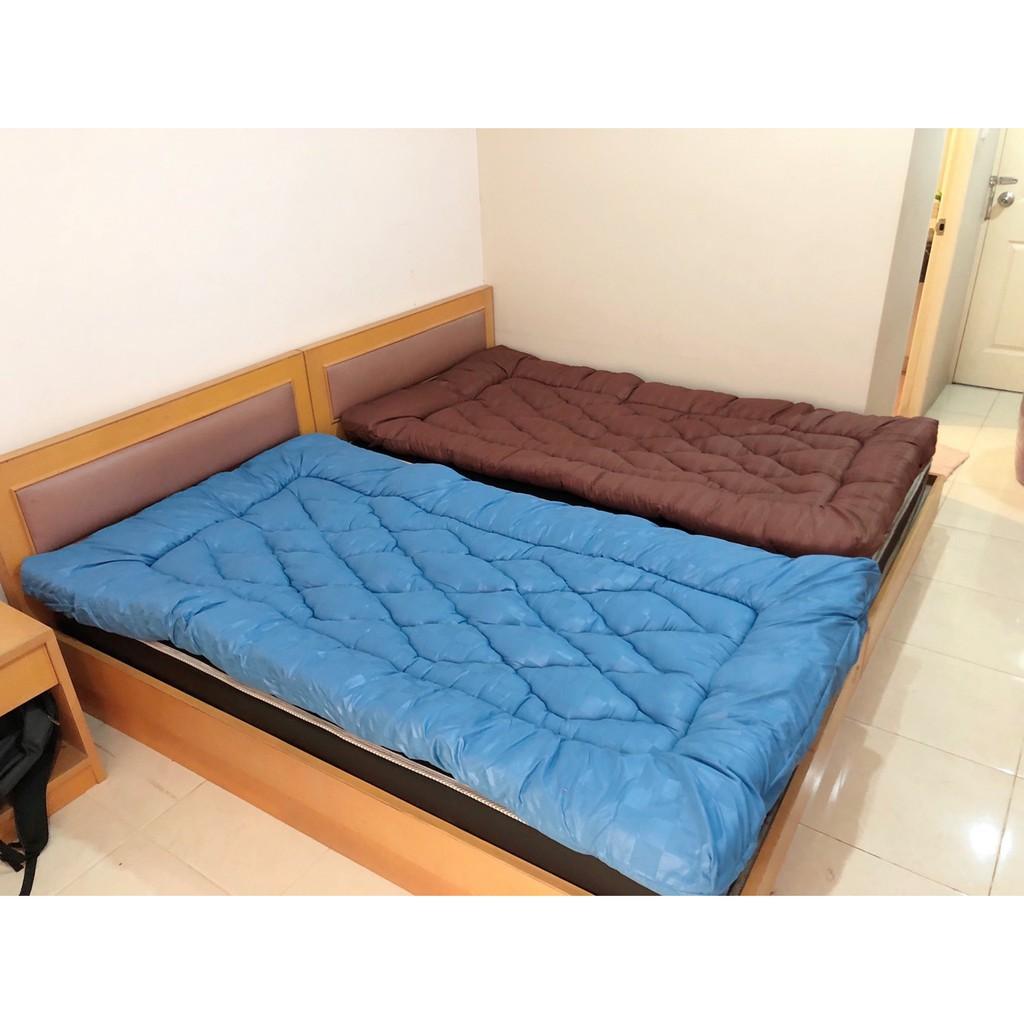 ที่นอน topper topper 5 ฟุต Topper Microgel ท๊อปเปอร์ 💎พร้อมส่ง 🎄ขนาด 3.5 ฟุต สินค้าโรงงานไทย หนา 4-5 นิ้ว สายรัด 4 มุม