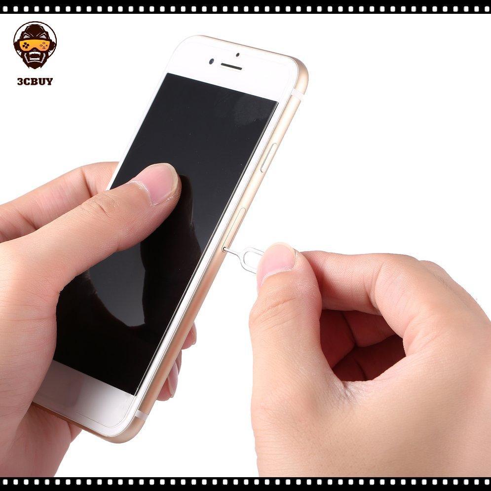 ถาดซิมการ์ด Eject Pin เข็มเครื่องมือสําหรับ Apple Iphone 3g 3gs 4s 5