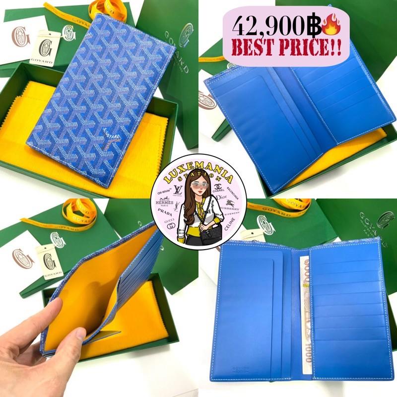 👜: New!! Goyard Long Bi-fold Wallet in Light Blue‼️ก่อนกดสั่งรบกวนทักมาเช็คสต๊อคก่อนนะคะ‼️