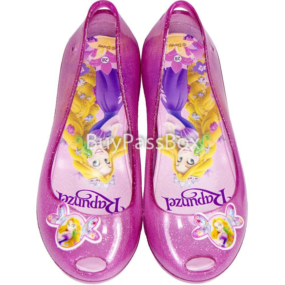 รองเท้าเด็กAERA(เอร่า) รองเท้าคัชชู ลายราพันเซล ลิขสิทธิ์แท้ BB B07-16 สีชมพูรองเท้าเด็กชายรองเท้าเด็กหญิง