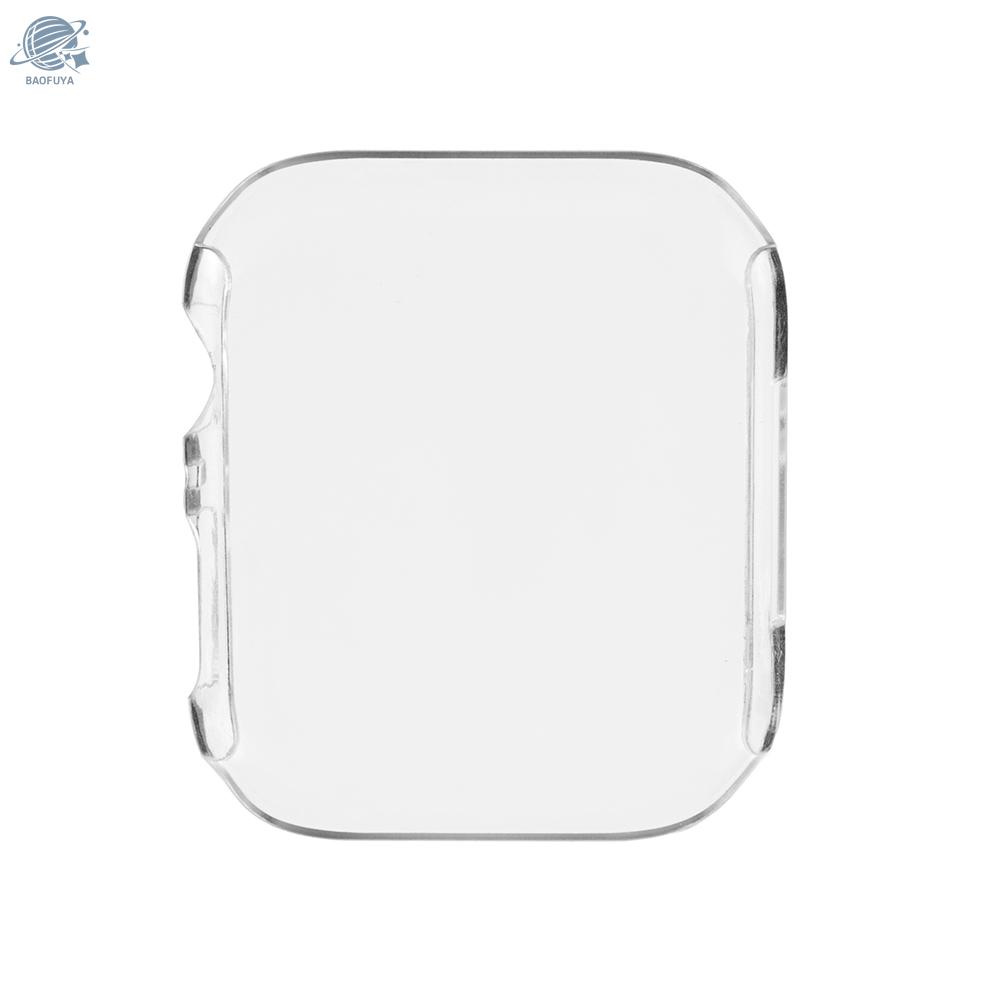 BF PC Screen Protector for Apple Watch 4th Generation High-quality Plastic Protection Case Anti-Dust Protective Cover for 40mm 44mm iWatch Series 4 Smart Watches