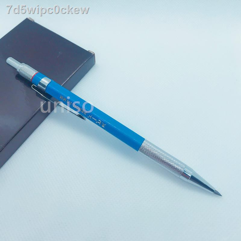ราคาไม่แพง℗◎☢เครื่องกดไส้ใหญ่ 2.0 มม. 2B รุ่น 22B ใช้คัดเขียนหรือวาดรูป (ราคาต่อสอน) # เครื่องกด ไส้ขนมกด