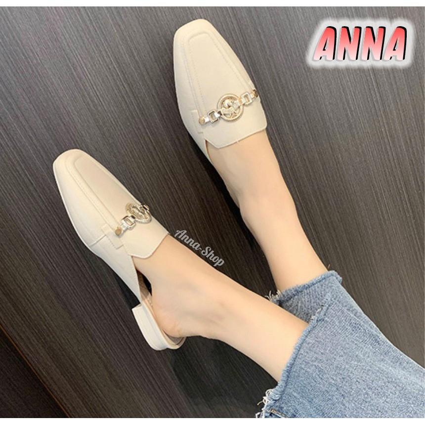 รองเท้าส้นแก้ว รองเท้าส้นสูงไซส์ใหญ่ รองเท้ามีส้น รองเท้าเสริมส้น รองเท้าแฟชั่นคัชชูเปิดส้น รองเท้าแฟชั่นผู้หญิง สวยมาก