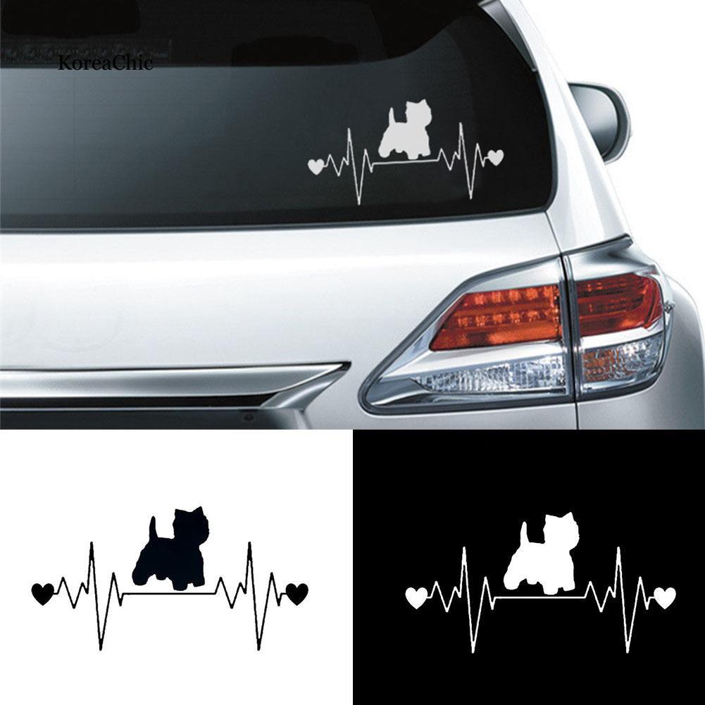 "5/"" X 5/"" Smart Dog Vinyl Decal Sticker for Car Bumper Truck Door Home Window Wall"