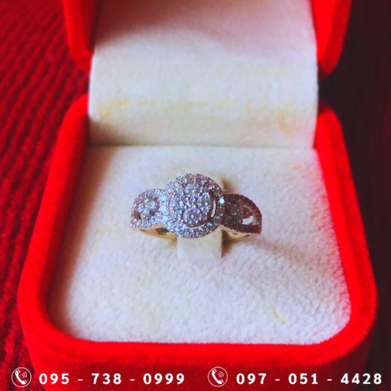 แหวนเพชรแท้ ทองคำขาว สวยหรูดูแพง ราคาดีที่สุด