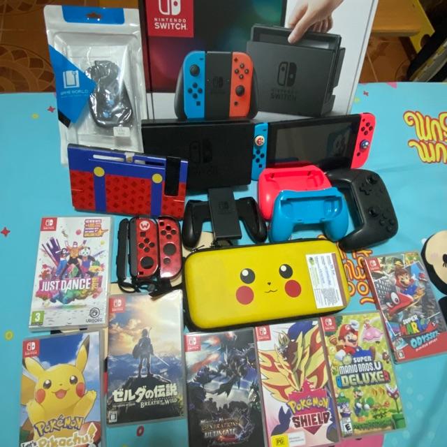 Nintendo switch มือสอง กล่องขาว หมดประกัน