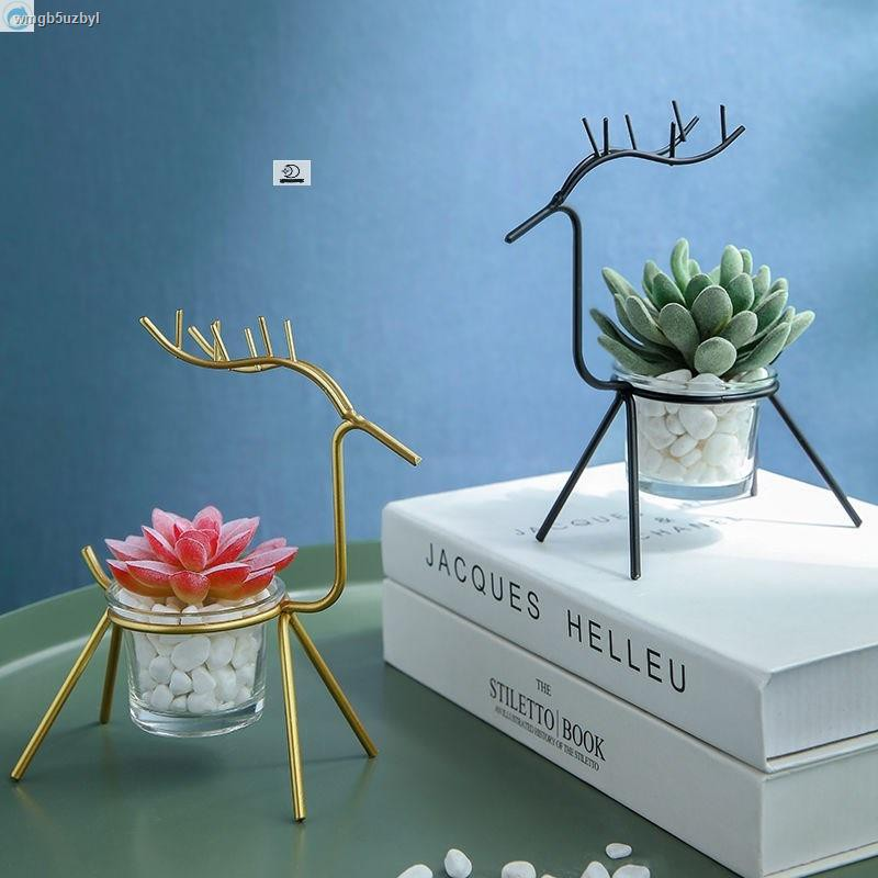 การจำลองพันธุ์ไม้อวบน้ำ✓►> ในร่ม succulent จำลองพืชสีเขียวดอกไม้ปลอมกระถางต้นไม้ขนาดเล็กตกแต่งตกแต่งห้องนั่งเล่นเดสก์ท็อ