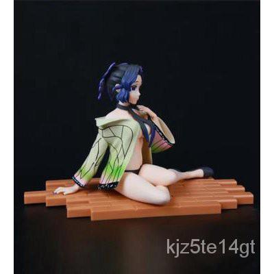 ☘️High Quality☘️1725cm Jaan Anime Demon Slayer Kochou Shinobu VC Action Figure Toy Kamado Nezuko Kochou Shinobu Sexy Gir
