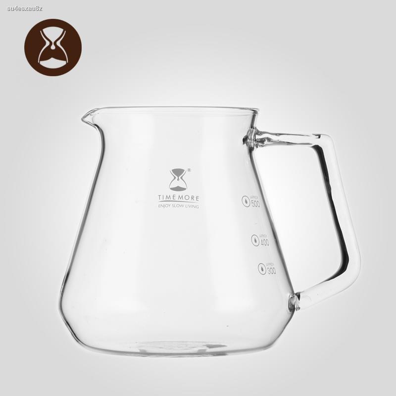 อุปกรณ์ชงกาแฟ☸Tymo แก้วกาแฟหม้อแบ่งปันในครัวเรือนหม้อกาแฟทำมือชุดเครื่องทำกาแฟ